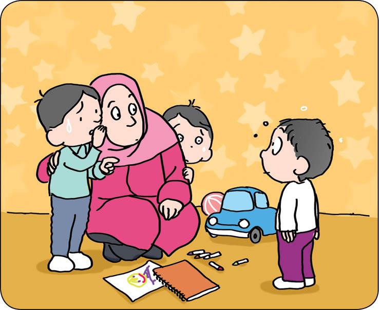 تصویرسازی ها: سعید مرادی
