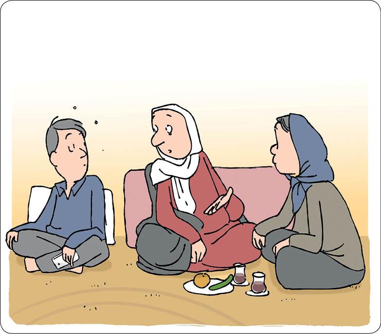 تصویر سازی ها:  سعید  مرادی