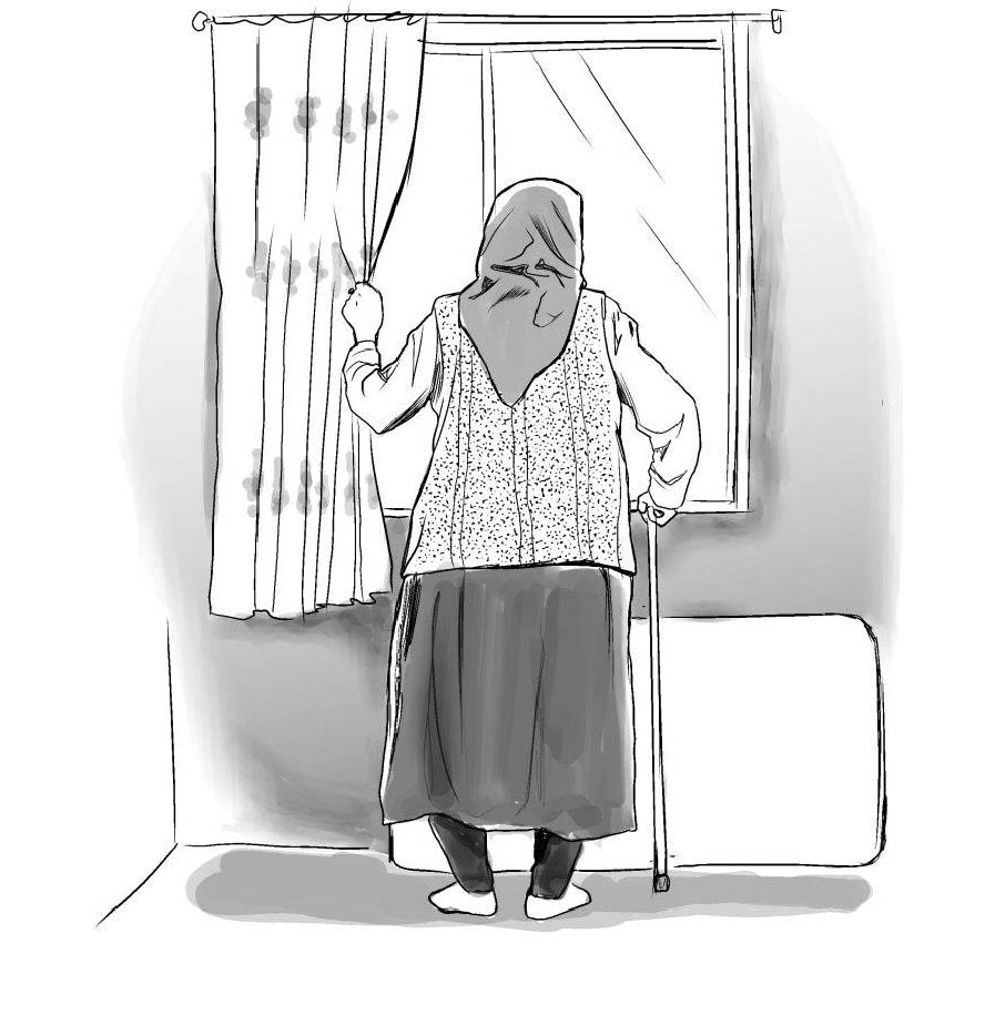 تصویرسازی ها از سعید مرادی